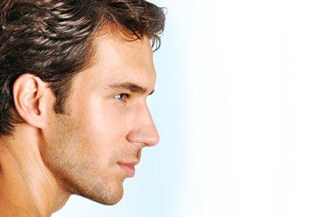 Man facial Man facial